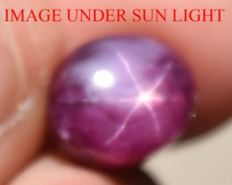 6.94 Ct Star Ruby CERTIFIED Beautiful Natural Unheated Untreated