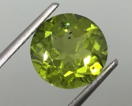 4.00 Carat Peridot Excellent Color and Quality