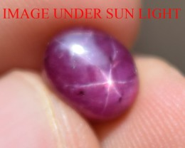 4.48 Ct Star Ruby CERTIFIED Beautiful Natural Unheated Untreated