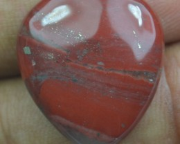 22.50 CT Red Jasper With Agate Beautiful Natural Cabochon x34-28
