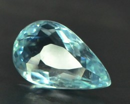 Gil Certified 3.67 ct Top Grade Blue Paraiba Tourmaline