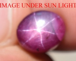5.04 Ct Star Ruby CERTIFIED Beautiful Natural Unheated Untreated