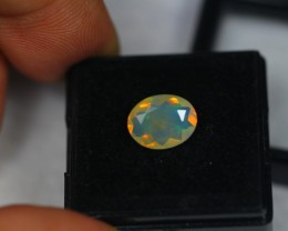1.46Ct Natural Ethiopian Welo Faceted Opal Lot V1775