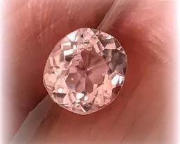 2.51ct Sparkling Sweet Silver  Kunzite Gem VVS No reserve