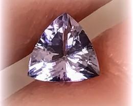 Sparkling Tanzanite Trilliant Cut Gem - beautiful stone No reserve