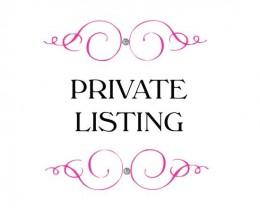 Private Listing For Prashpms Lot GWB03