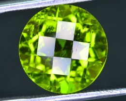 Natural 6.55 Ct Fancy Peridote Gemstone