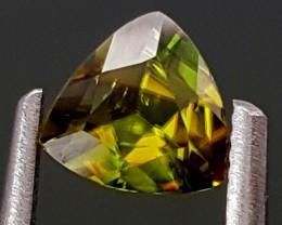 0.45Crt Chrome Sphene  Best Grade Gemstones JI77