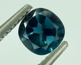0.74 Crt Natural London Blue Topaz Faceted Gemstone (MG 20)