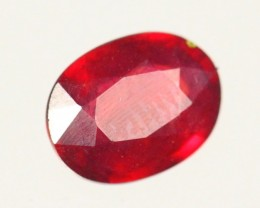 2.19Cts Madagascar Natural Oval Red Ruby Gemstone