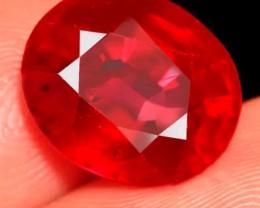 (B5) Ravishing Natural 6.95ct. Red Ruby