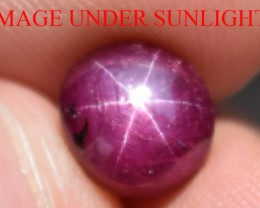3.90 Ct Star Ruby CERTIFIED Beautiful Natural Unheated Untreated
