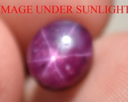 3.59 Ct Star Ruby CERTIFIED Beautiful Natural Unheated Untreated