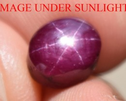4.78 Ct Star Ruby CERTIFIED Beautiful Natural Unheated Untreated