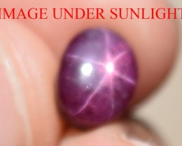 3.24 Ct Star Ruby CERTIFIED Beautiful Natural Unheated Untreated