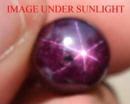 9.55 Ct Star Ruby CERTIFIED Beautiful Natural Unheated Untreated