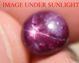 5.39 Ct Star Ruby CERTIFIED Beautiful Natural Unheated Untreated