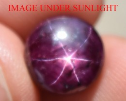 8.61 Ct Star Ruby CERTIFIED Beautiful Natural Unheated Untreated