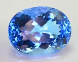 45 Ct Gorgeous Color Natural Swiss Blue Topaz