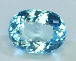 Gil Certified AAA Grade 8.03 ct Attractive Color  Aquamarine