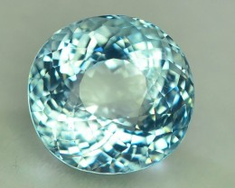 Gil Certified AAA Grade 8.55 ct Attractive Color  Aquamarine