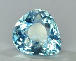 Gil Certified AAA Grade 6.35 ct Attractive Color  Aquamarine