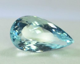 Gil Certified AAA Grade 9.83 ct Attractive Color  Aquamarine