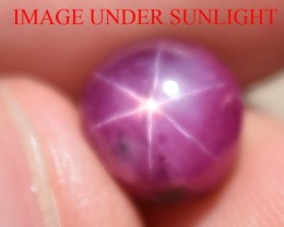 6.30 Ct Star Ruby CERTIFIED Beautiful Natural Unheated Untreated