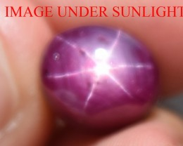 8.87 Ct Star Ruby CERTIFIED Beautiful Natural Unheated Untreated