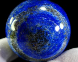 1508 CT Natural lapis  lazuli Carvid Ball Stone Special Shape