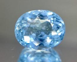 2.50 Crt Aquamarine Faceted Gemstone (R 204)