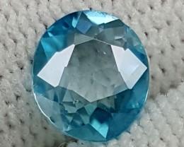1.45CT BLUE ZIRCON BEST QUALITY GEMSTONE IGC475