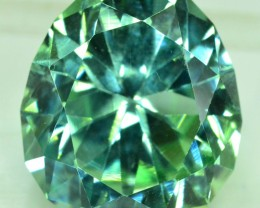 No Reserve - 23.50 cts New Fancy Haxegon Cut Lush Green Spodumene GemstONE