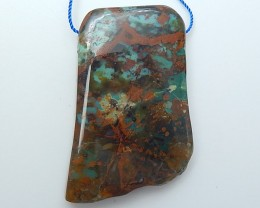 179ct On Sale Nugget Green Opal Pendant (18071704)