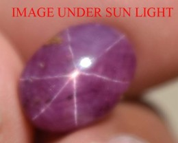 7.02 Ct Star Ruby CERTIFIED Beautiful Natural Unheated Untreated