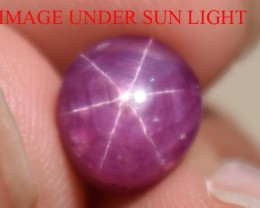 5.29 Ct Star Ruby CERTIFIED Beautiful Natural Unheated Untreated