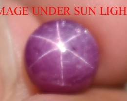 4.04 Ct Star Ruby CERTIFIED Beautiful Natural Unheated Untreated