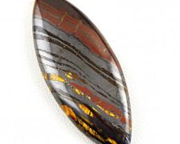 Genuine 60.00 Cts Iron Tiger Eye Untreated Gem