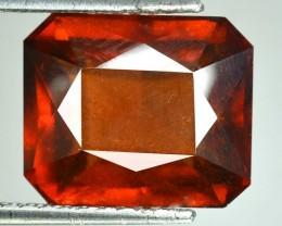 18.90 Cts Natural Cinnamon Red Hessonite Garnet Octagon Cut Srilankan  Gem
