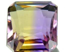 3.15 Cts Natural Bi Color Ametrine Octagon Cut Bolivian Gem