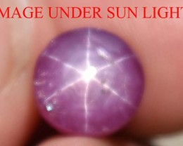 7.70 Ct Star Ruby CERTIFIED Beautiful Natural Unheated Untreated