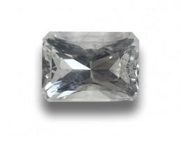 Natural Unheated White Sapphire Loose Gemstone  Sri Lanka - New