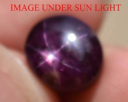 9.54 Ct Star Ruby CERTIFIED Beautiful Natural Unheated Untreated