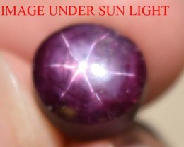 10.61 Ct Star Ruby CERTIFIED Beautiful Natural Unheated Untreated