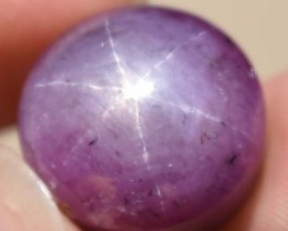 33.25 Ct Star Ruby CERTIFIED Beautiful Natural Unheated Untreated