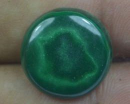 12.80 Cts Natural Malachite Cabochon (UnHeated + UnTreated) x42-135