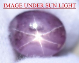 10.73 Ct Star Ruby CERTIFIED Beautiful Natural Unheated Untreated