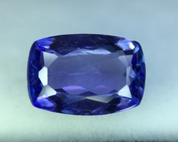 1.81 Cts Tanzanite  Awesome Color & Cut Faceted Gemstone 5