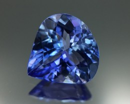 1.42 Cts Tanzanite Awesome Color & Cut Faceted Gemstone 6