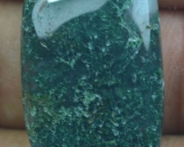 20.70 CT BEAUTIFUL MOSS AGATE (NATURAL+UNTREATED) X25-166